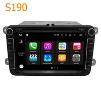 Wholesale vw polo dvd - Winca S190 8 inch Android 7.1 Quad Core CPU 2 Din Car Radio DVD GPS Navigation Head Unit for VW Tiguan Caddy Jetta Passat CC Touran for Polo