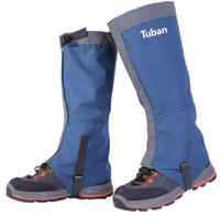 yürüyüş ayakkabıları toptan satış-Yürüyüş Çorapları Kar Çorapları Su Geçirmez Boot Gaiter Su Geçirmez Rüzgar Geçirmez Çoraplar Takviyeli TPU Askı Nefes 500D Naylon out232