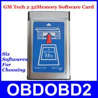 Wholesale Tech Gm Prices - Attractive Price 32 MB Card GM Tech-2 6 Software Available GM Tech 2 32Memory Card Supports Multi-Language