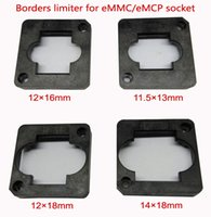 4 pz / lotto eMMC / test eMCP Limite bordi socket, frame guider, 11.5 * 13mm, 12 * 16mm, 12 * 18mm, 14 * 18mm, per struttura a conchiglia