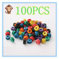 Wholesale needle grommet - 100PCS Soft Multicolor H Type Tattoo Grommet Tattoo Needle Pad For Needle Machine Supply