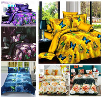 Wholesale New Arrival Reactive printed D bedding set of duvet cover bed sheet pillowcase queen size