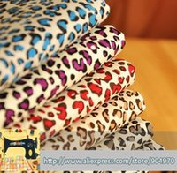 Wholesale Home Textile Cotton Fabric Material - 6pcs Cotton fabric Breathable for sewing home Textiles cotton fabric material multi-colored Leopard