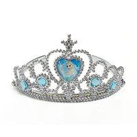Wholesale Toy Crowns Tiaras - Free shipping 2014 Frozen Children Crown Princess Anna Elsa Crown girl toy Princess tiara Headdress Cartoon 10pcs lot
