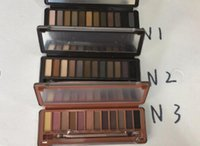 Wholesale naked palette makeup 12 online - Best quality Naked eye shadow pallet smoky makeup NO Palette color naked pallet Matte Natual eyeshadow Cosmetics