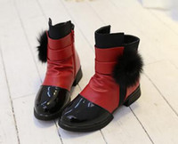 Wholesale Girl Riding Boots - 11 girls shoes 9 little girls 5 leather 6 warm snow boots 7 children 8 autumn and winter 3 riding boots 10 years old velvet