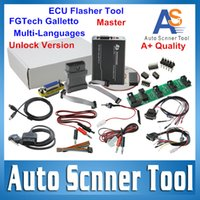 Wholesale-2015 Best A + Quality Unlcok FGTech Galletto V54 Meister FG TECHE V54 ECU Flasher Unterstützung BDM Funktion Multi-Language