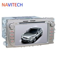 Wholesale Gps Ford Kuga - Car dvd gps player for Ford Focus 2 2009 Ford Mondeo 4 S-max C-max Transit Fiesta Galaxy Kuga 7inch car dvd automotivo