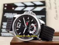 Wholesale gt xl - New Luxury Brand High Quality AAA GT XL Power Reserve Automatic Men's Watch 168457-3001 Black Dial Rubber Strap Gents Sports Watches CD18