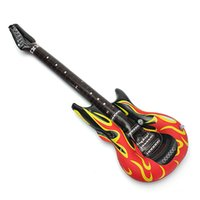 Wholesale Kids Musical Guitars - 2015 New Arrival 40 Inches PVC Inflatable Guitar Musical Instrument Guitar ballom Children Kids Toy Birthday Party Gift Favor order<$18no tr