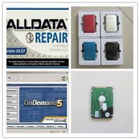 Automobil-Diagnosesoftware v 10.53 alldata und mitchell ondemand5 Selbstreparatur-Software 2in1 hdd 750gb