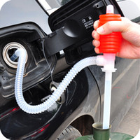 Wholesale pump cars - Generation car motorcycle suction device manual oil pump pumping plastic oil pumping JH4