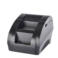impressora digital de máquina camiseta venda por atacado-Impressora térmica do recibo 58mm usb térmica impressora impressora de bilhete usb supermercado NT-5890K