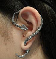 Wholesale Metal Jewelry Hoops - wholesale- gold silver Metal Tone ear cuff Snake Cuff earring ear cuff chain ear cuff earrings ear cuff jewelry