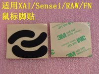 Wholesale Kana Mouse - Original 3M 0.6mm mouse feet for steelseries XAI Sensei RAW FN KINZU KANA and V1 V2 teflon mouseskate