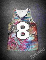 Wholesale Tshirt Vest Men - w1209 On Sale 2015 brand 3D vest Mesh Unisex tank men tops women tanks sport shirt tshirt breathable top Quality Leaf Letter