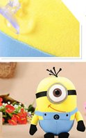 Wholesale Despicable Plush Soft Toy - New explosion of a small yellow man plush toy thief daddy despicable me small yellow people grab machine dolls, plush toys
