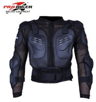 Wholesale Full Body Nylons - Full Body Armor Motorcycle Jacket Spine Chest racing cycling biker armour Armor Motor Motocross protector Motorbike Jacket M L XL XXL XXXL