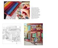 wholesale adult coloring books designs secret garden animal kingdom fantasy dream enchanted forest pages kids adult - Wholesale Coloring Books