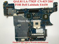 Others SCSI Others Wholesale-Original laptop motherboard FOR DELL Dell Laitdude E6430 QAL81 LA-7782P CN-02V2HC Socket PGA989 DDR3 Fully tested&Free