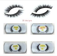 Wholesale Art Models - Fur Mink False Eyelashes Eyes Makeup Handmade mink handmade natural 3D models Lashes eyelash manufacturers Beaux Arts promotional
