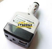 convertisseur de puissance auto achat en gros de-DC 12 220V Inverter USB Chargeur Auto Car Converter Convertisseur Adaptateur Inverseur Chargeur Avec Chargeur De Voiture USB