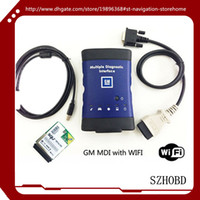 Wholesale Tech Diagnostic Cable - with wifi card ( WORK 100% ) Vauxhall   Opel MDI (Tech 3) support Global TIS GDS 2 Tech2Win software + DHL free