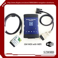 Wholesale with wifi card WORK Vauxhall Opel MDI Tech support Global TIS GDS Tech2Win software DHL free