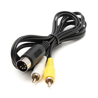 Wholesale Video Specials - Wholesale-Newest !!Special Offer 6ft A V Cable Drive MD 1 For Master System 1 RCA Phono AV Video Lead Cable For Sega For Mega High Quality