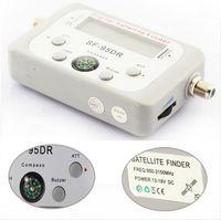 Wholesale Digital Server - Satellite Signal Finder Meter Satfinder Tool LCD DIRECTV DISH FTA TV Signal Finder Receptor Satellite Digital HD cccam Server