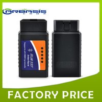 Wholesale Toyota Diagnostic Tool Price - OBD2 Elm 327 with bluetooth ELM 327 OBD II Diagnostic Interface Auto Car Diagnostic Scan tool with good price with free shipping 8sets lot