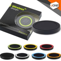 Q5 Universal Wireless Charger Pad Portable Power Band Q1 estándar para s6 s7 s8 Iphone con paquete al por menor