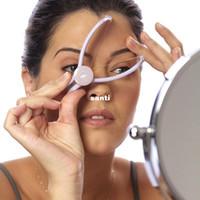 инструменты для нарезания резьбы оптовых-Инструмент Красоты Вручную Threading Лица Волосы На Лице Remover Эпилятор