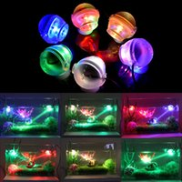 Wholesale Led Glow Light Fishing - High Quality 1W Glowing LED Light Underwater Diving Spotlights Lamp For Aquarium Fish Tank beautiful night light