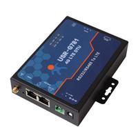 Wholesale Industrial Ethernet - Wholesale USR-G781 Industrial Serial to Cellular Modem 4G 3G Router LTE Modem 2 Port RJ45 Ethernet WAN VIA DHL