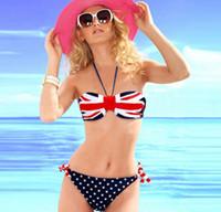 bikini yeni tasarımlar toptan satış-2016 yeni bikini mayo toptan bayrağı tasarım sıcak satış Kızlar mini bikini moda yeni bikini mayo