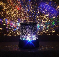 Wholesale Led Projector For Day Light - Free Shipping Amazing Flashing Colorful Galaxy Night Lamp Sky Star Master LED Projector Sky Night Light Best Christmas Gift For Kids
