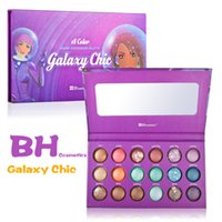 Wholesale Galaxy Chic Palette - Wholesale-Baked BH Eyeshadow Palette Eye Shadow Palettes Galaxy Chic Makeup Pigment Shimmer Party 18 Color Sombras 2015 New