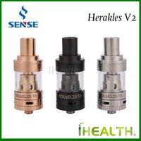 Wholesale Design Convenient - Authentic Sense Herakles V2 Subohm Tank 2.0ml liquid Capacity Convenient Top Filling with Sense patented Tri Parallel Coil Design 3 colors