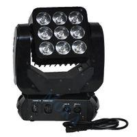 iluminación cegadora al por mayor-Moka MK-M25 3 * 3 RGBW Luz de cabeza móvil 9 * 10 vatios Matrix Blinder LED Blinder Profesional Efecto de escenario Luz