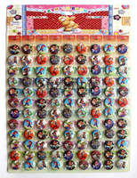 Wholesale Mario Pins - 216 pcs 2 sets 2.5cm New Arrival Super Mario Pin Badge Buttons Cartoon Badge for children's Gift