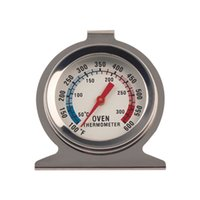 Wholesale Food Thermometers Free Shipping - 1Pc Stand Up Food Meat Dial Oven Thermometer Temperature Gauge Gage Baking Tools Free Shipping