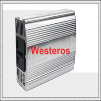 Wholesale Sine Wave Free Shipping - Good Free shipping 300W Power Inverter Pure Sine Wave 12V DC to 220V AC New Q0045D