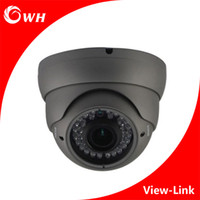 CWH-A4008H7V Metal AHD Telecamera dome CCTV con colore nero e 1MP / 1.3MP / 2MP 2.8-12MM Vari-lens CCTV Security CCTV Dome zoom Camera