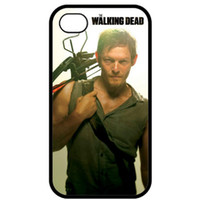 Wholesale Walking Dead Phone Cases - Wholesale Walking Dead Daryl Dixon Men Design Style Hard Plastic Shell Phone Case Cover For Iphone 4 4S 5 5S 5C Free Shipping