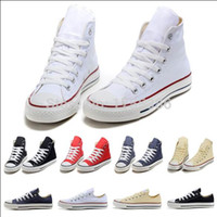 Wholesale drop shipping New canvas shoes men shoes star Low High unisex men sneakers women sneakers shoes all size ds6