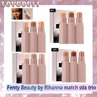 Wholesale Waterproof Matches Wholesale - Fenty Beauty by Rihanna match stix trio Bronzers & Highlighters Four boxes of 12 colors Multi functional make up Concealer 660232-1