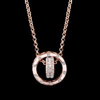 Wholesale Korean Wholesale Bridal Necklace - Hot sale Korean Fashion Charm Bridal Jewelry Women Crystal Pendant Necklace Make With Swarovski Elements Free Shipping