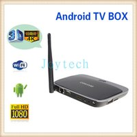 Wholesale Rk3188 Quad Core - Most popular Q7 CS918 Andriod TV Box black color 1GB+8GB 2GB+8GB android TV Box quad core RK3188 with high quality and best price
