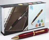 kamera video mini 4g großhandel-Mini Stift Kamera DVR eingebaut 4 GB 8 GB 720 * 480 30fps Stift Lochkamera Digital Video Recorder Stift Mini DVR schwarz blau rot